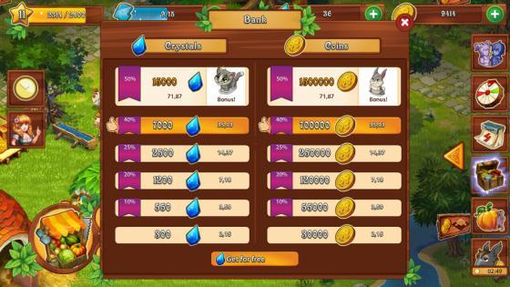 Farmdale_App_Test_Tipps_Tricks_Bewertung_Crystals