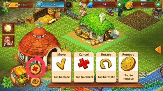 Farmdale_App_Test_Tipps_Tricks_Gebaeude_Bewegen