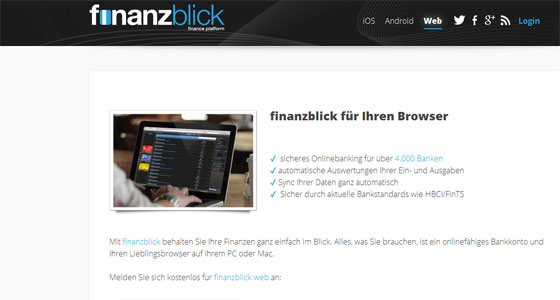 Finanzblick_App_Check_Android_Weblogin_Screenshot