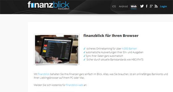 Finanzblick_App_Check_Android_Weblogin_Screenshot