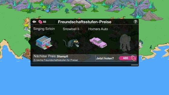 Simpsons_App_St_Patricks_Day_Freundschaftspunkte_Preise