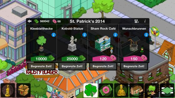 Simpsons_App_St_Patricks_Day_Shop