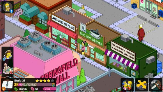 Simpsons_App_besondere_Events_neue_Figur_Kumiko