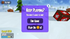 snow spin keep playing coins