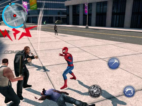 Amazing_Spiderman_2_App_Fight