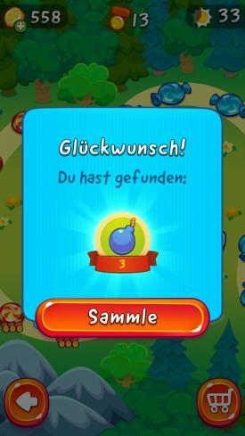 Cut_The_Rope_2_App_Android_iPhone_Check_Dinge_finden