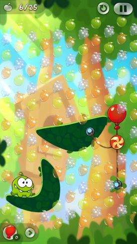 Cut_The_Rope_2_App_Android_iPhone_Check_Fruechte_Sammeln