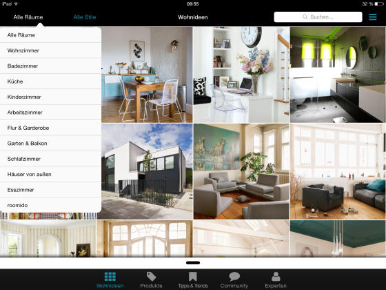 Roomido_App_Wohnideen