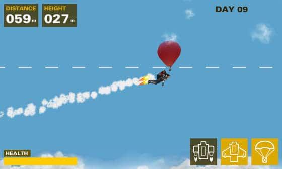 Skyman_Flug