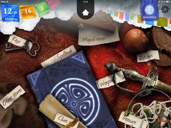 Sorcery_2_Steve_Jackson_inkle_Check_App_Test_Inventar