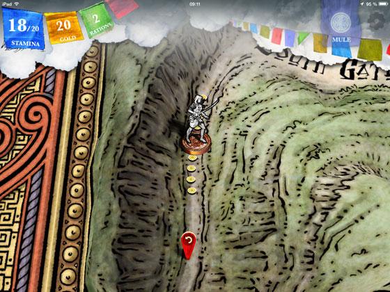 Sorcery_2_Steve_Jackson_inkle_Check_App_Test_Kartenbewegung