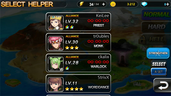 Summon_Masters_App_Karten_Strategie_Rollenspiel_Allianz_waehlen