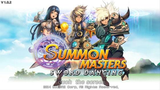 Summon_Masters_Sword_Dancing_App_Karten_Strategie_Rollenspiel_Titelbild