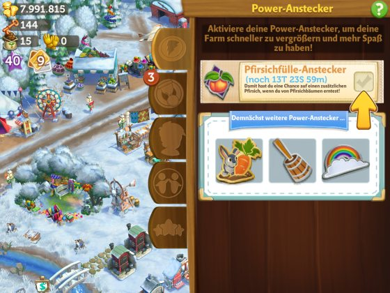 power anstecker farmville 2
