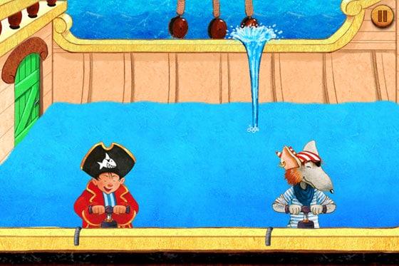 Captn_Sharky_Abenteuer_auf_hoher_See_Kinder_App_Wasser_pumpen
