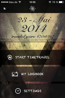 Dark_Dreams_Time_Machine_App_Schlafen_Startbildschirm
