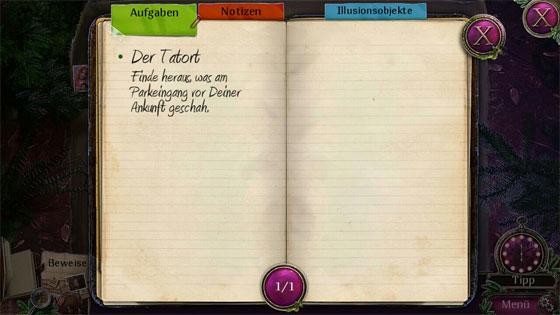 Enigmatis_2_Nebel_Ravenwood_Tagebuch