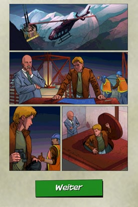 MacGyver_Toedlicher_Abstieg_App_iOS_Android_Comic_Abstieg