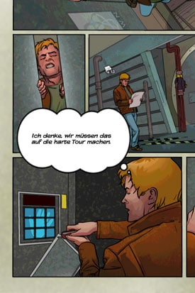 MacGyver_Toedlicher_Abstieg_App_iOS_Android_Comic_Harte_Tour