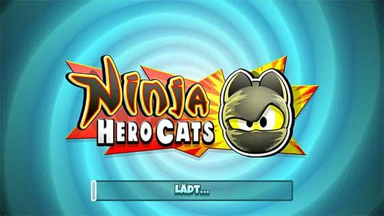 Ninja_Hero_Cats_App_Perlen_Fische_Sammeln_Titel