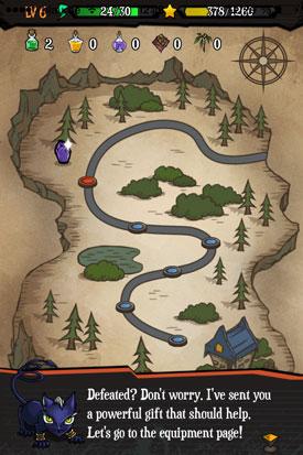 Sorcery_Craft_App_iOS_Abenteuer_Karte