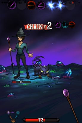 Sorcery_Craft_App_iOS_Chain_ausgeloest