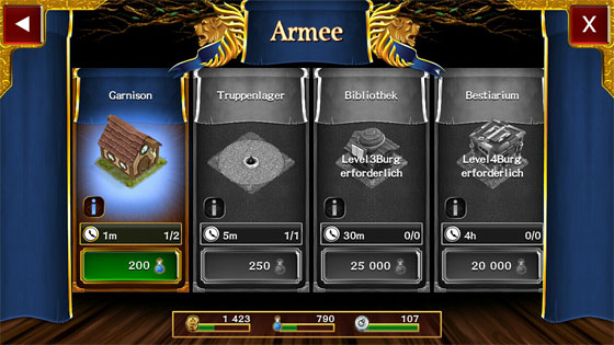 Arcane_Battlegrounds_Android_App_Armee_Gebaeude