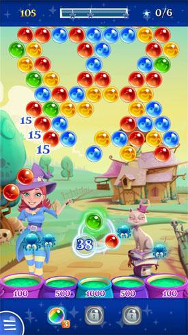Bubble Schießen