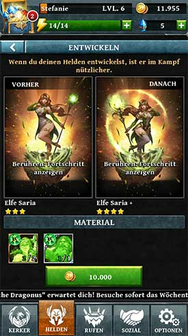 Dungeon_Gems_App_Entwicklung_Saria