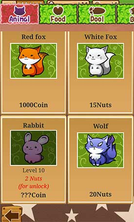 Forest_Life_App_Android_Kinder_Tiere_Pflege_Tiere_kaufen