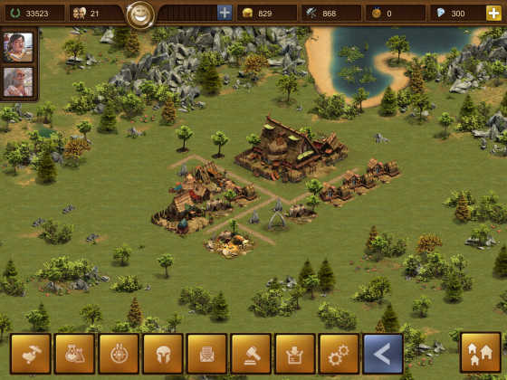 Forge of Empires App - Spielstart