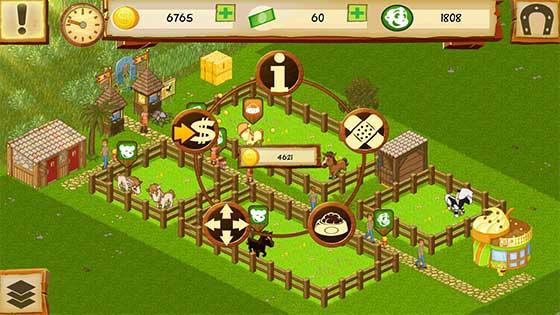 Horse_Park_Tycoon_App_Android_iOS_Ringmenue_Tiere_versorgen