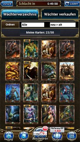 Immortalis_App_Karten_sammeln_Strategie_RPG_Waechter