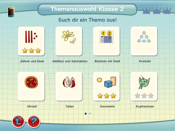 Lernerfolg_Grundschule_App_iPad_Uebersicht