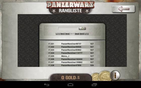 PanzerWars_App_Bestenliste