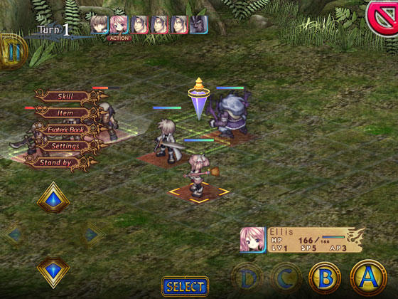 Record_of_Agarest_War_App_iOS_Android_Gruppe
