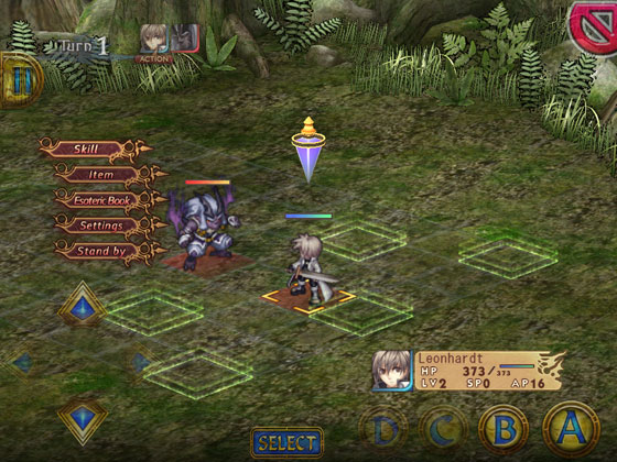 Record_of_Agarest_War_App_iOS_Android_Kampfmenue