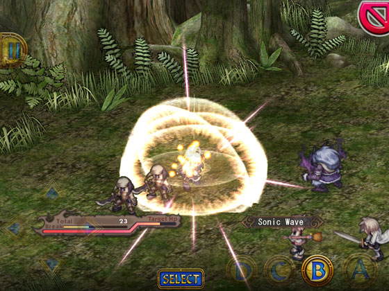Record_of_Agarest_War_App_iOS_Android_Schaden_zufuegen_Party