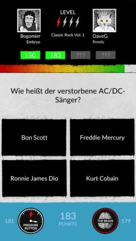 Rock n Roll Knowitall app frage