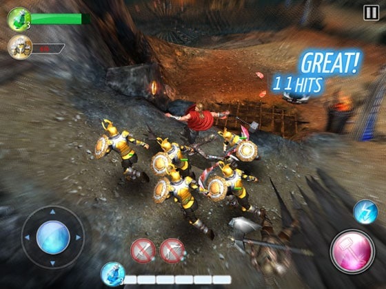 Thor-TDK_App_Action_Game_Gameloft_Blurry_Effekt