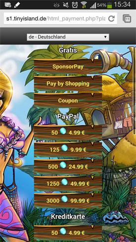 Tiny_Island_App_Match-3_Abenteuer_Perlen_kaufen
