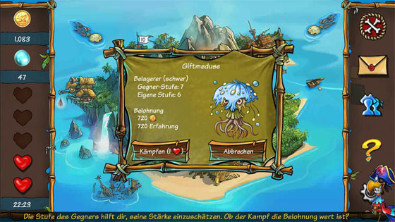 Tiny_Island_App_Match-3_Abenteuer_Schwerer_Gegner