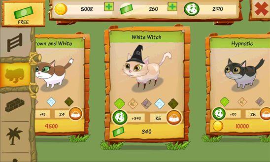 codes cat park tycoon app