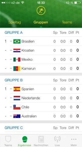 onefootball brasilien gruppen