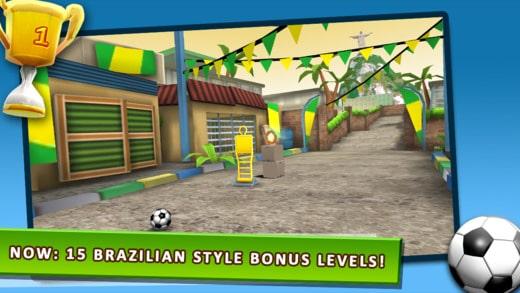Kick The Ball Brazilian Style