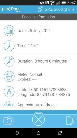 picoPark App