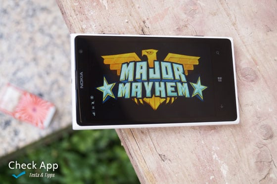 Major Mayhem_App