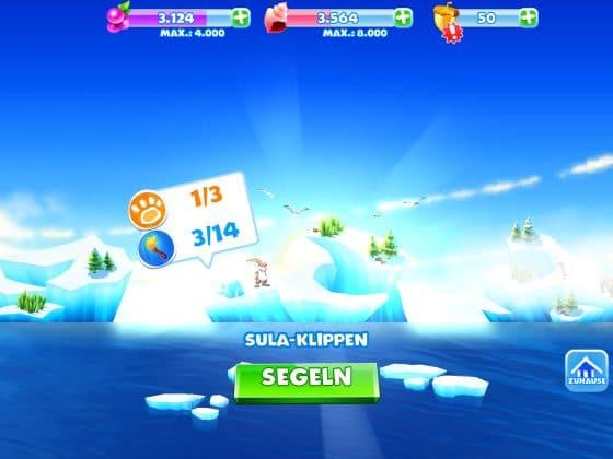 ice age adventures inseln