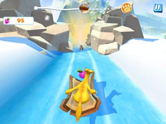 ice age adventures sid runner minispiel