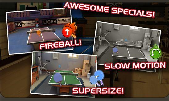 Ping Pong Masters fireball